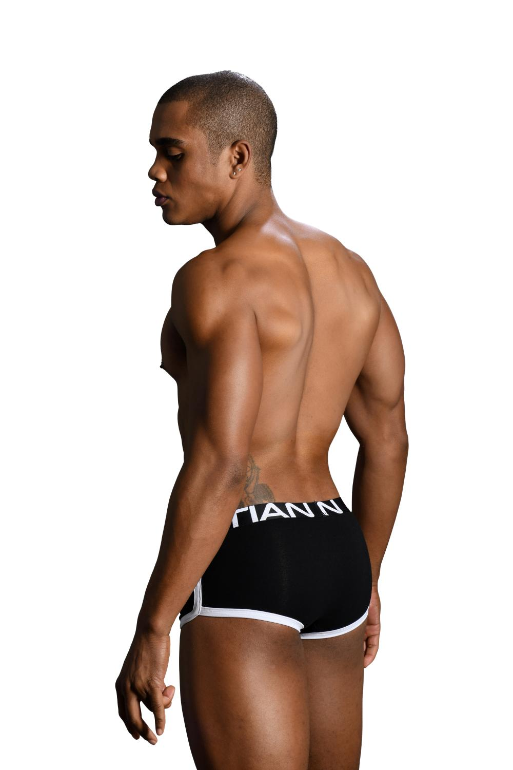 Retro Pop Pocket boxerky ANDREW CHRISTIAN s Pushup kapsou Show-It Black5