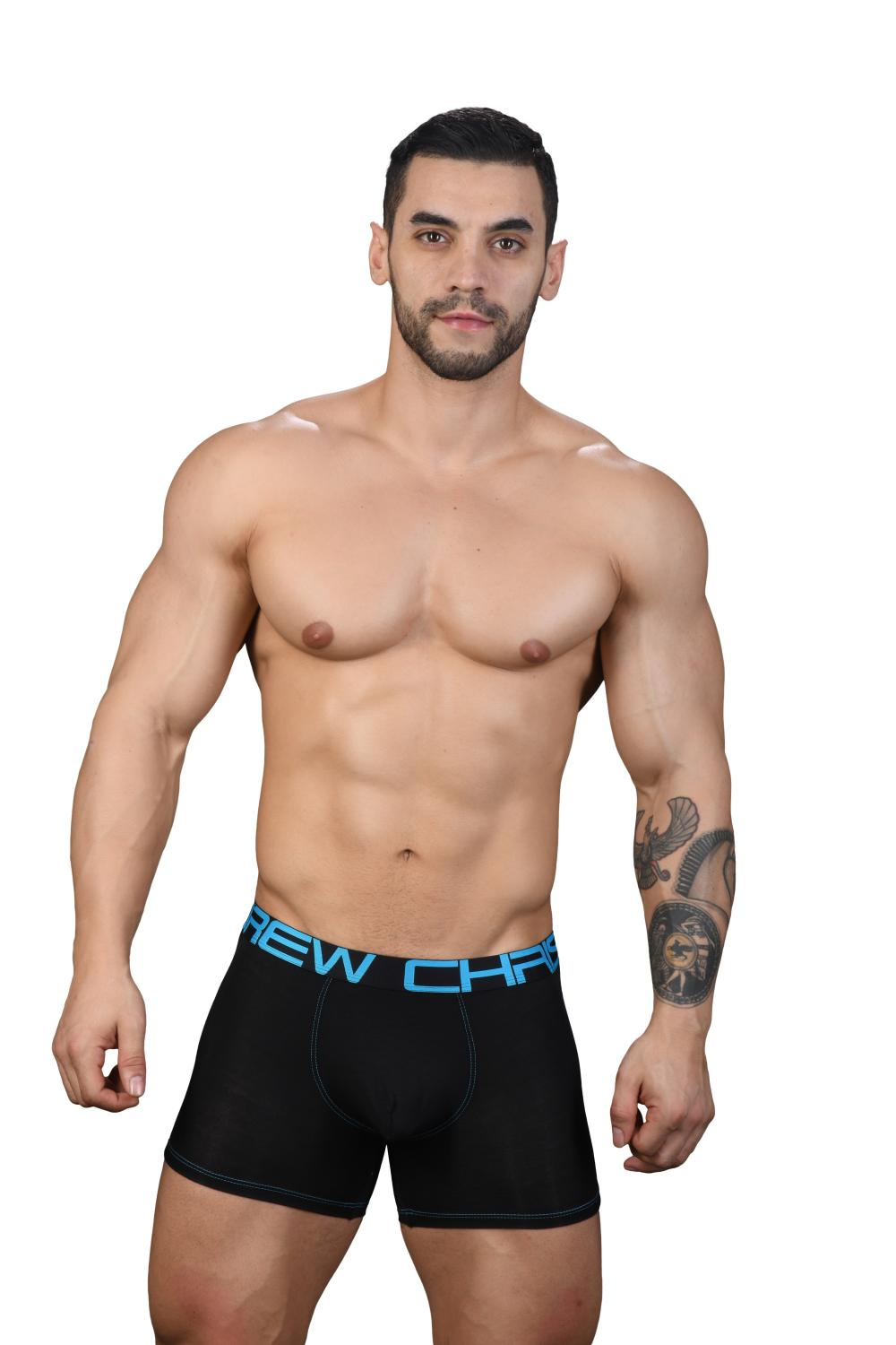 Almost Naked Premium boxerky ANDREW CHRISTIAN Black2