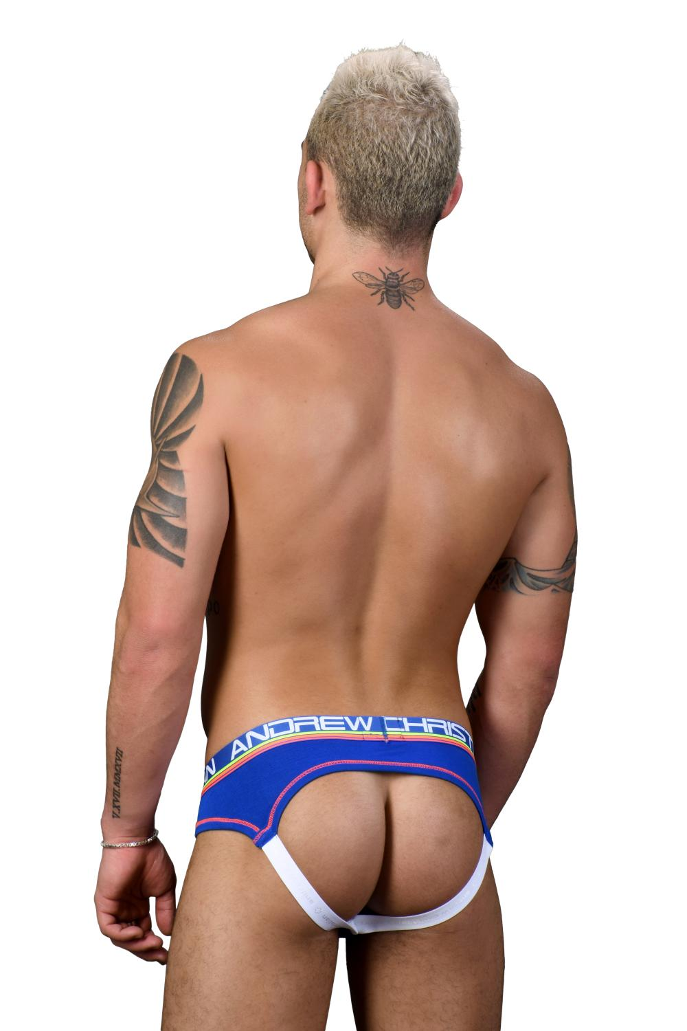 CoolFlex Modal Locker Room Jockstrap ANDREW CHRISTIAN s Pushup kapsou Show-It Royal4