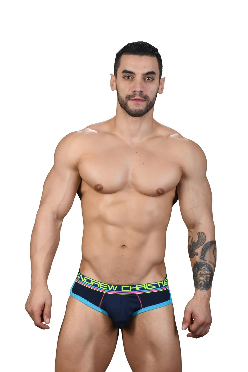 CoolFlex Modal Slipy ANDREW CHRISTIAN s Pushup kapsou Show-It Navy2