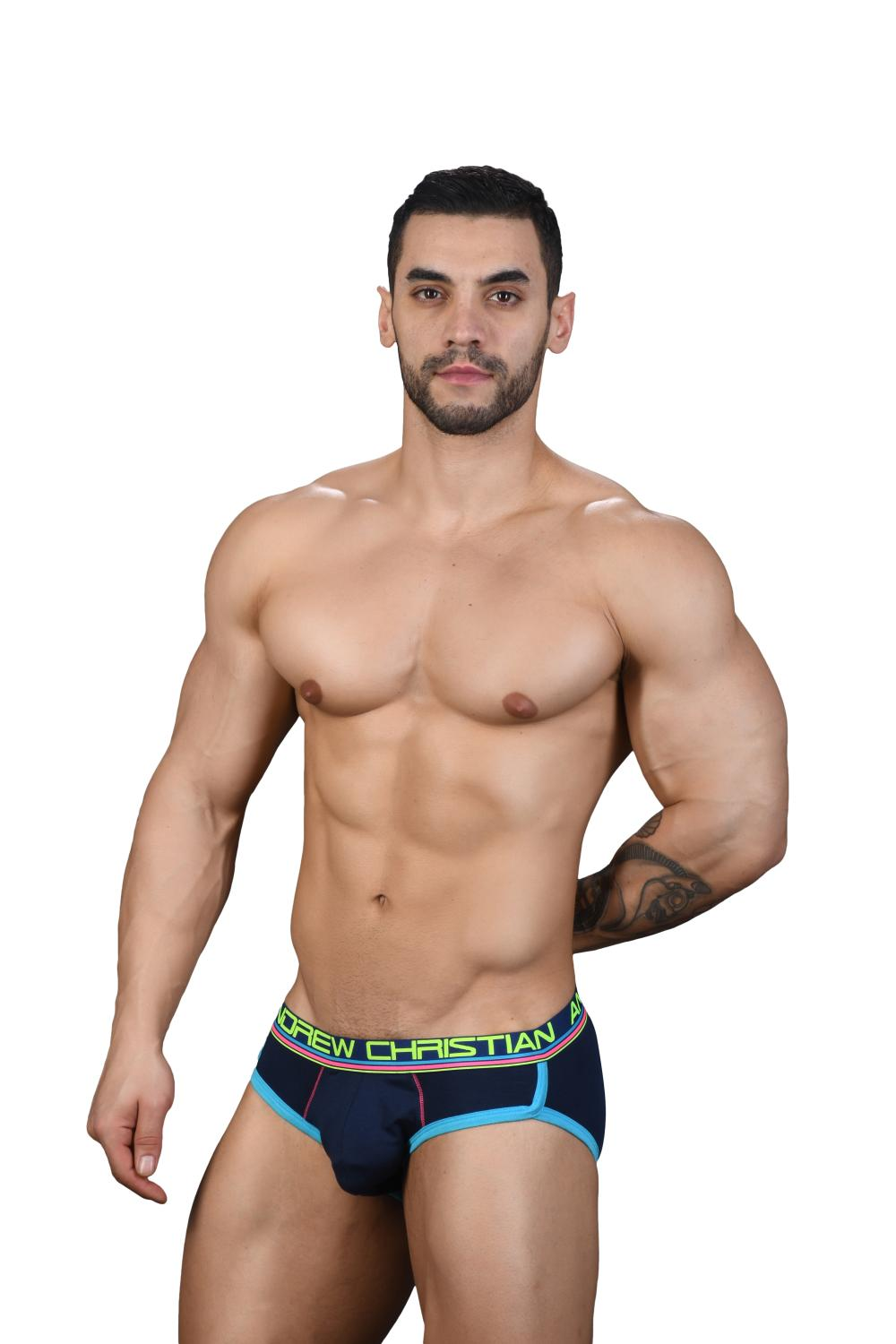 CoolFlex Modal Slipy ANDREW CHRISTIAN s Pushup kapsou Show-It Navy3