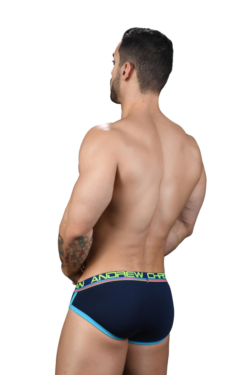 CoolFlex Modal Slipy ANDREW CHRISTIAN s Pushup kapsou Show-It Navy5
