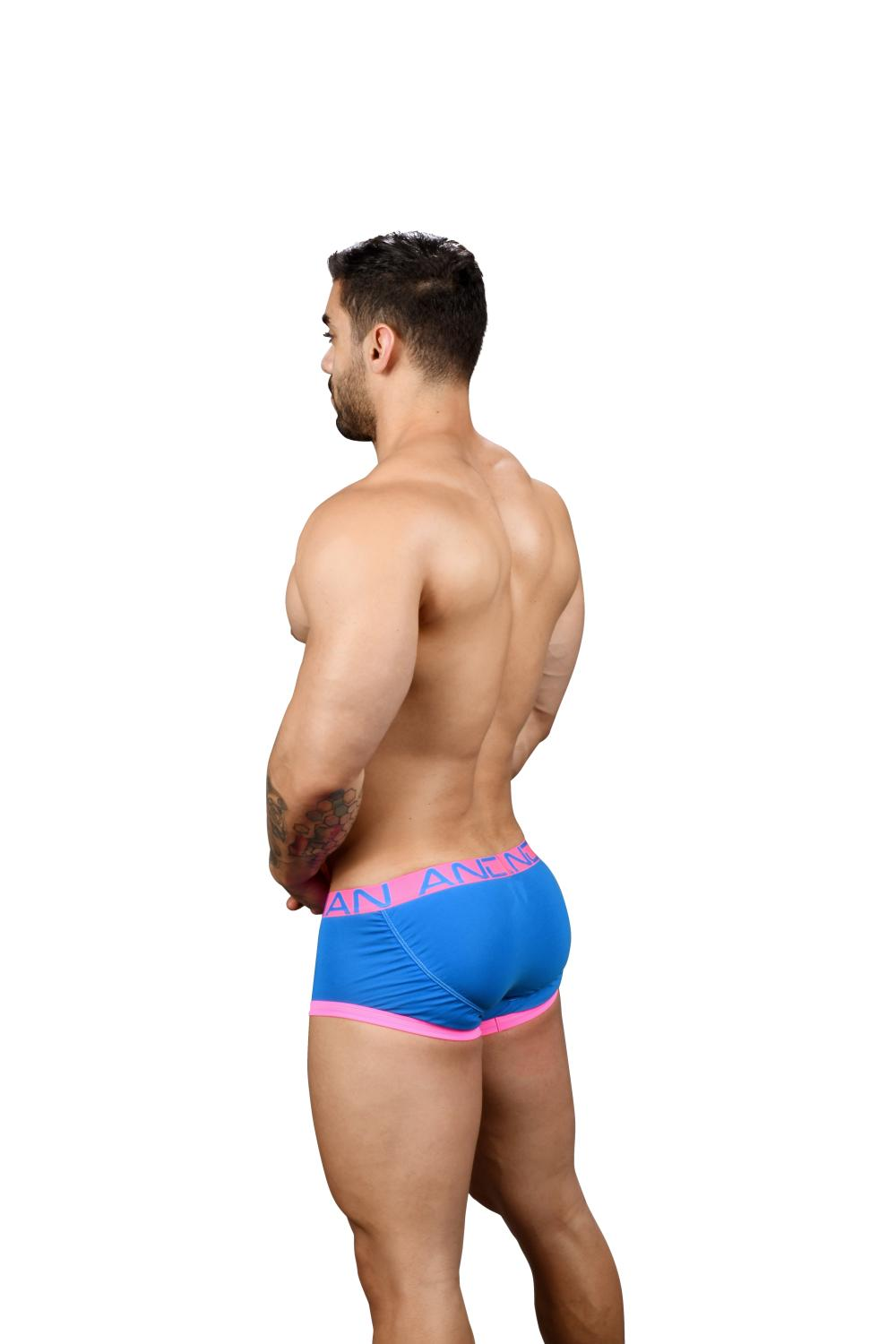 FlashLift Boxerky ANDREW CHRISTIAN s Pushup kapsou Show-It Electric Blue5