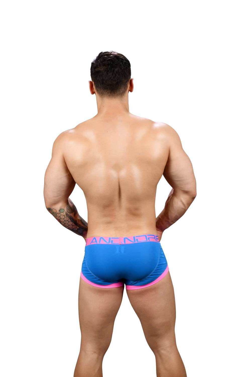 FlashLift Boxerky ANDREW CHRISTIAN s Pushup kapsou Show-It Electric Blue6