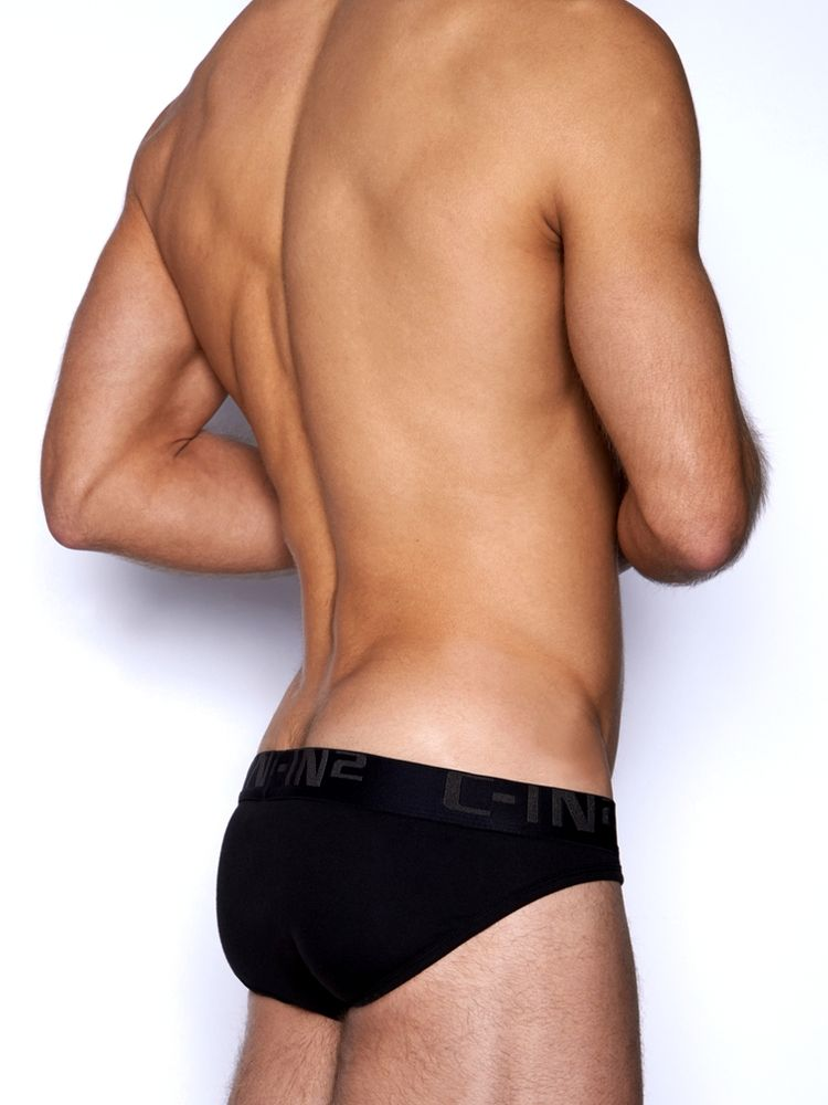 C-IN2 Slipy Core Low No Show Sport Brief - Černá 3