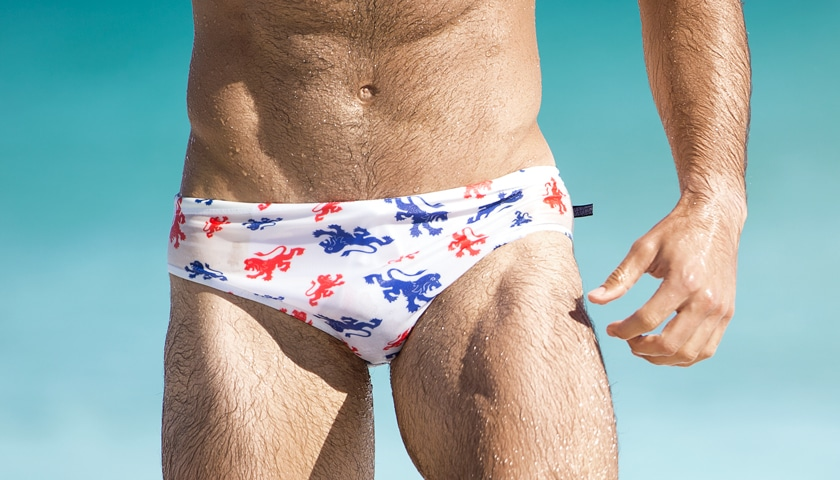 AussieBum slipové plavky World Series LION 1