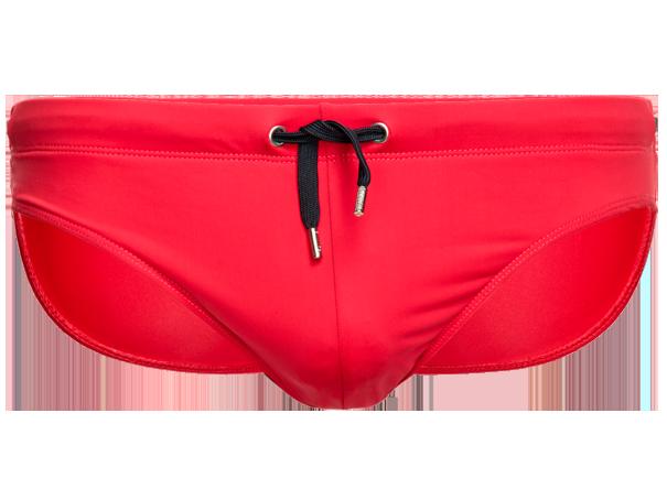 panske-push-up-slipove-plavky-s-vyjimatelnou-vlozkou-cervena