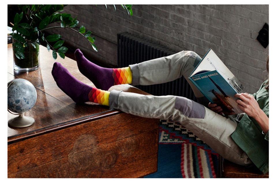 Barevné pánské ponožky Faded Diamons 41-46 Barva  Zeleno-černé ... 76e364a3035