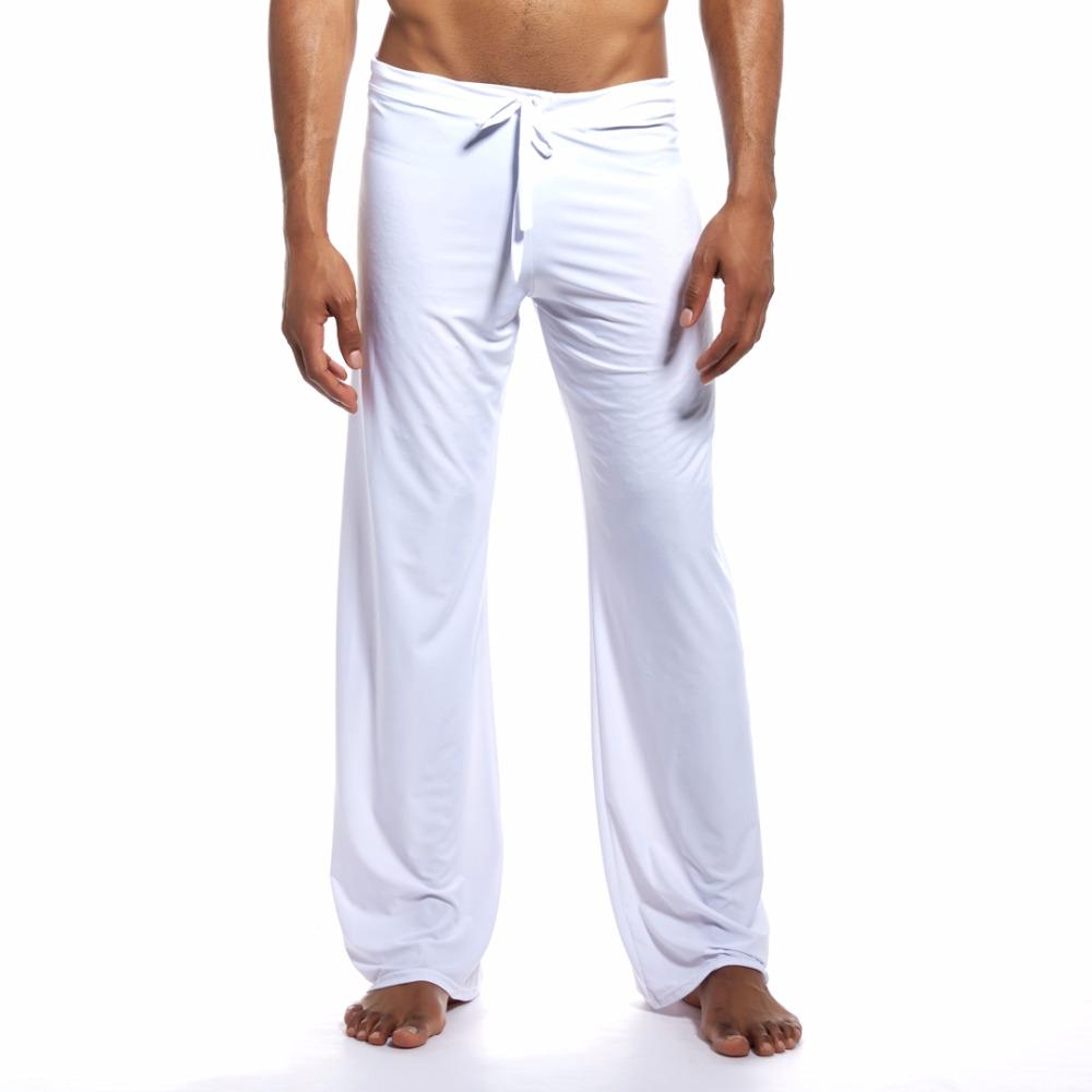 pohodlne-a-volne-domaci-kalhoty-dream-lounge-pants-bila