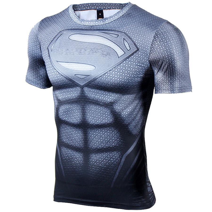 kompresni-triko-s-kratkym-rukavem-a-motivem-superman-titan-3