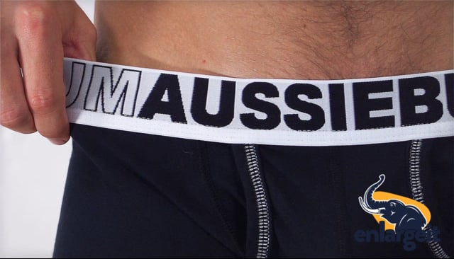 4581bd061 ↑↑↑ Push-up Boxerky AussieBum s kapsou Enlarge IT Hipster Černá ...